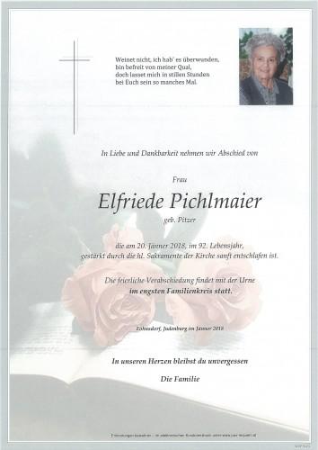 Elfriede Pichlmaier geb. Pitzer