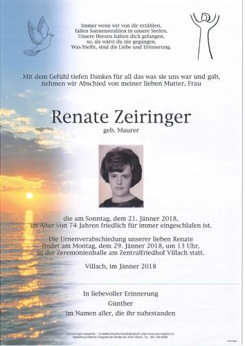 Renate Zeiringer