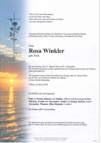 Rosa Winkler