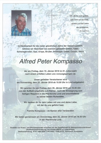 Alfred Peter Kompasso
