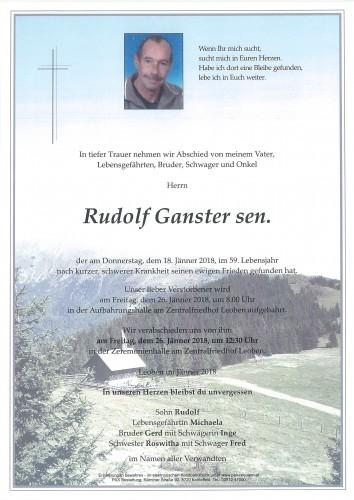 Rudolf Ganster sen.