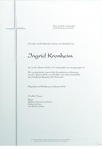 Ingrid Kronheim