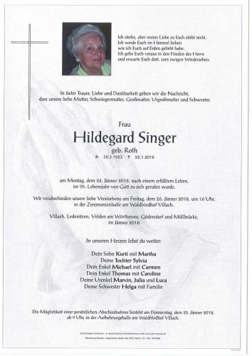 Hildegard Singer