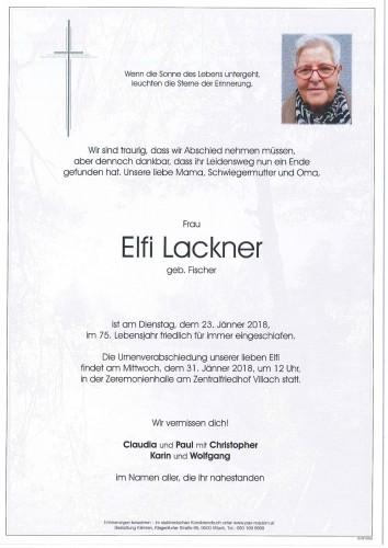 Elfi Lackner
