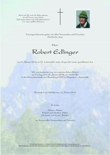 Robert Edlinger