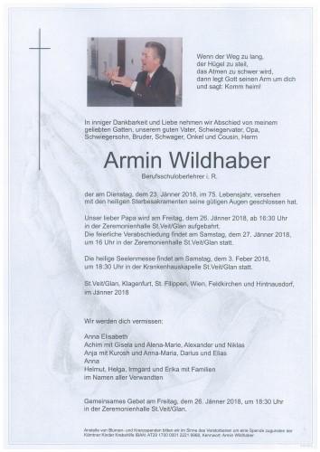 Armin Wildhaber