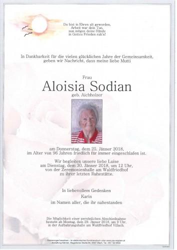 Aloisia Sodian