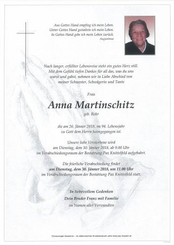 Anna Martinschitz