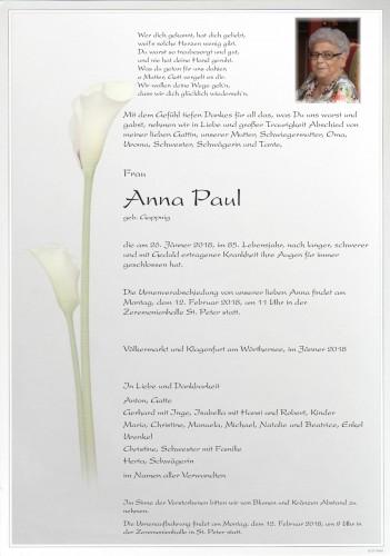 Anna PAUL
