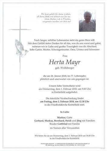 Herta Mayr