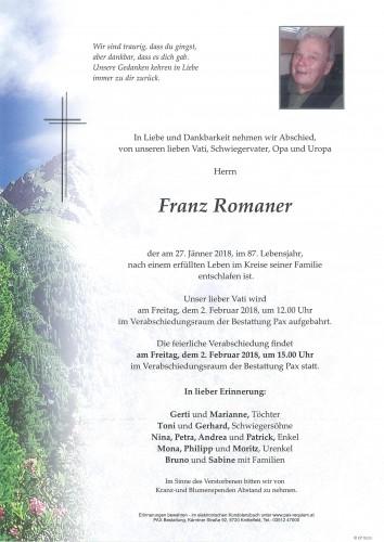 Franz Romaner