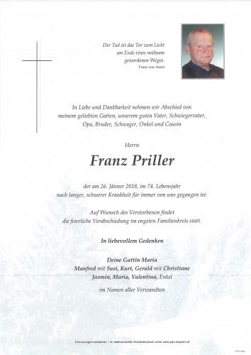 Franz Priller
