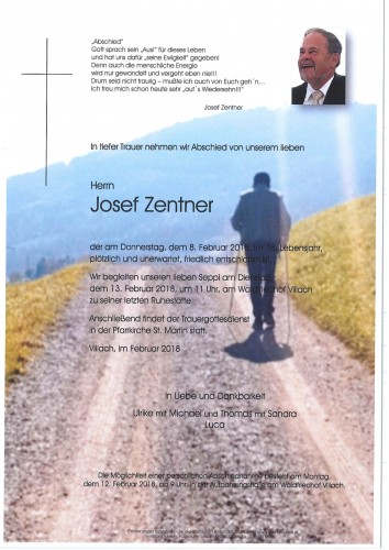 Josef Zentner