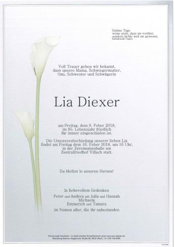 Lia Diexer