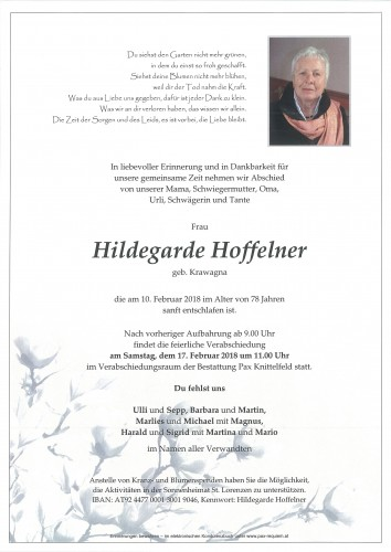 Hildegarde Hoffelner