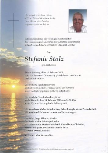Stefanie Stolz