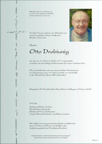 Otto Drobiunig