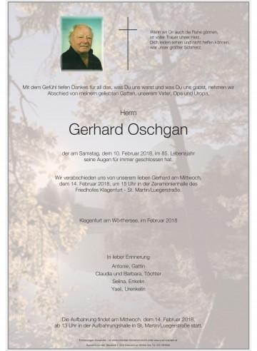 Gerhard Oschgan