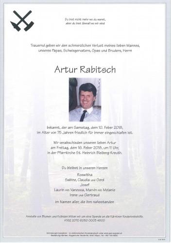 Artur Rabitsch