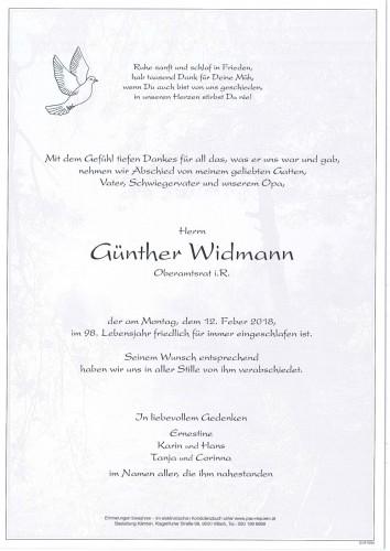 Günther Widmann