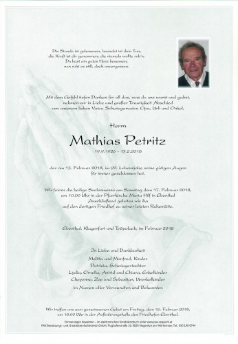 Mathias Petritz