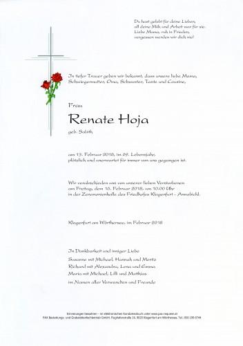Renate Hoja