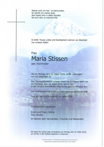 Maria Stissen