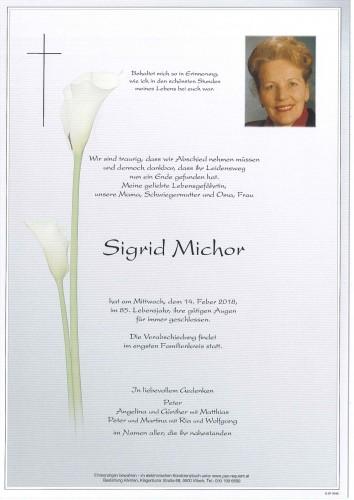Sigrid Michor