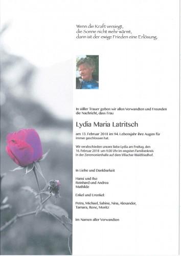 Lydia Latritsch