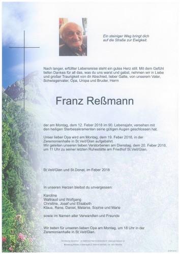 Franz Reßmann
