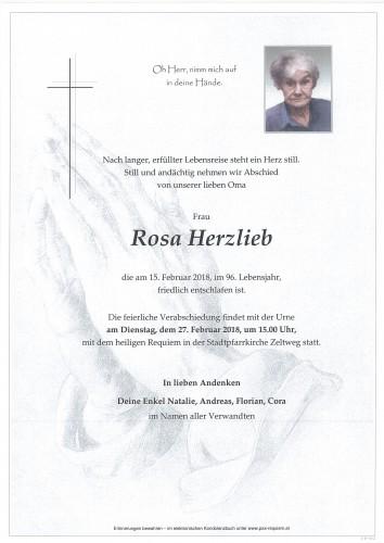 Rosa Herzlieb