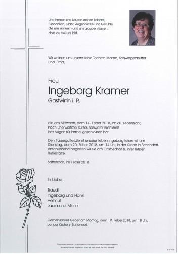 Ingeborg Kramer