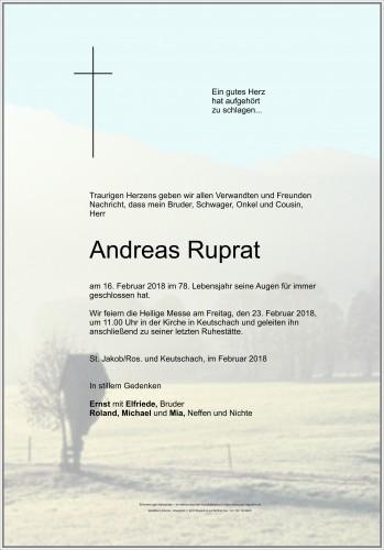Andreas Ruprat