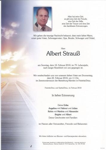 Albert Strauß