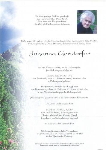 Johanna Gerstorfer