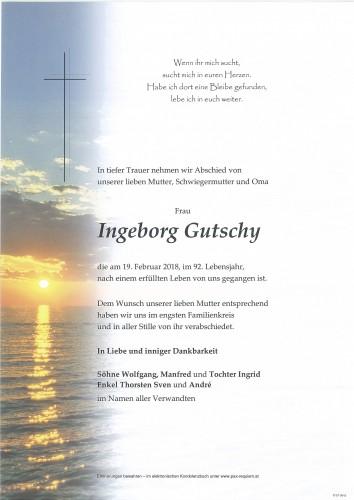 Ingeborg Gutschy