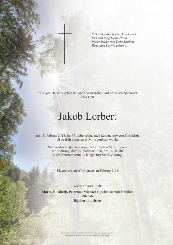 Jakob Lorbert