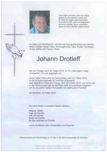 Johann Drotleff