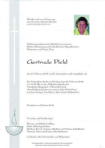 Gertrude Pickl