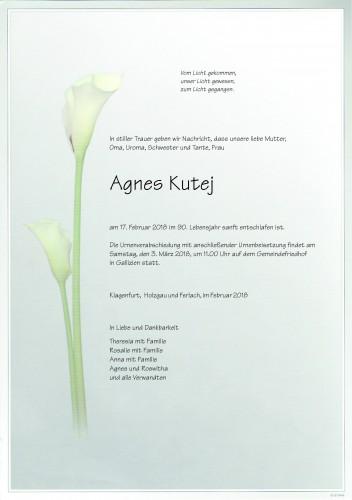 Agnes Kutej