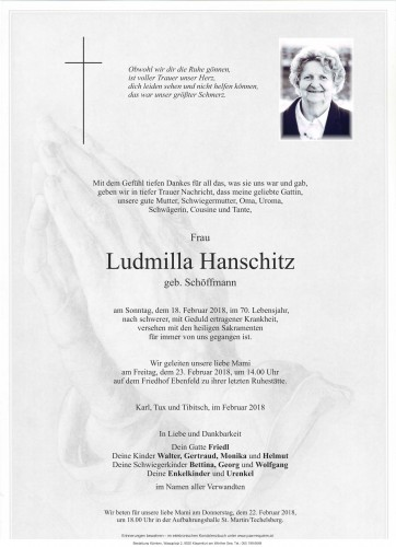 Ludmilla Hanschitz