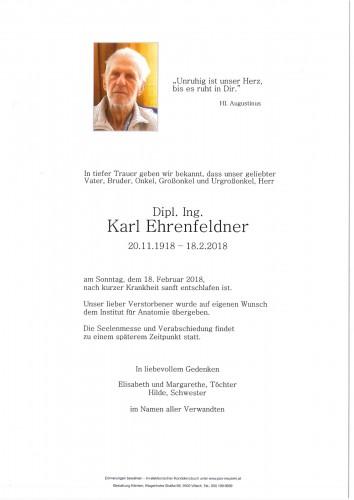 Karl Ehrenfeldner
