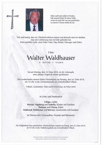 Walter Waldhauser