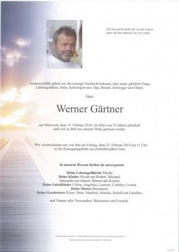 Werner Gärtner