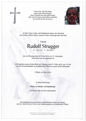 Rudolf Strugger