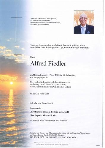Alfred Fiedler