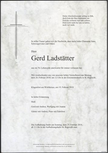 Gerd Ladstätter