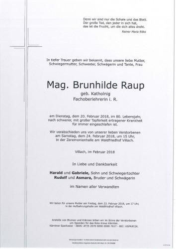 Mag. Brunhilde Raup