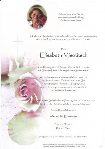 Elisabeth Misotitsch