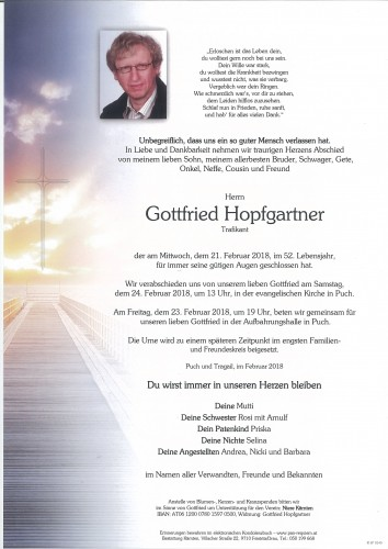 Gottfried Hopfgartner